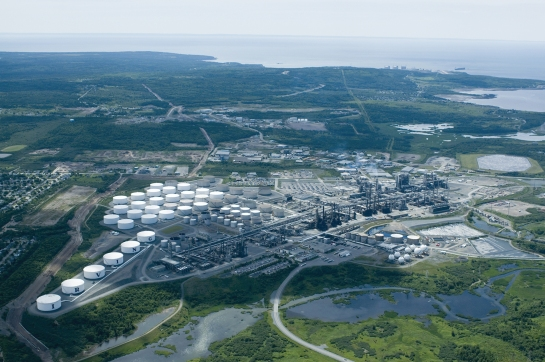 Irving refinery